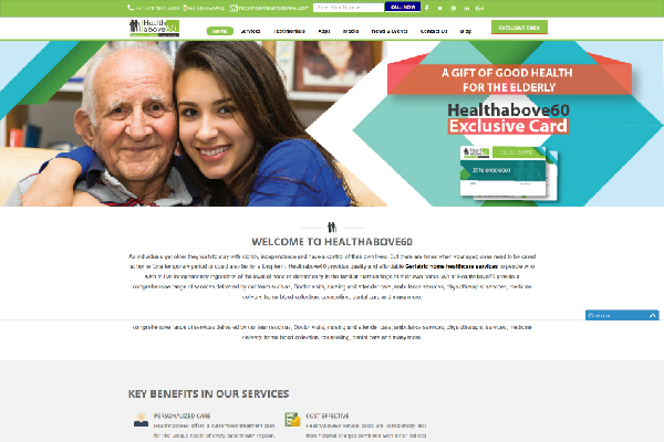 Healthabove60 Website Screenshot